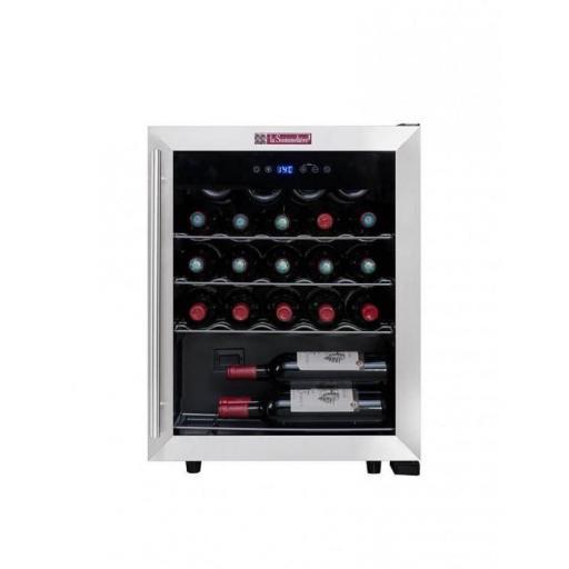 La Sommeliere LS24A Wine Fridge - 23 bottles - Single Zone Wine Cooler - 480mm Wide