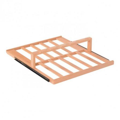 Display shelf in Beech Wood for Pevino P168S
