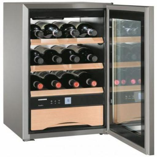 Liebherr WKes 653 Grand Cru - Single Zone Freestanding Wine Cabinet - 440mm Wide - 12 Bottles