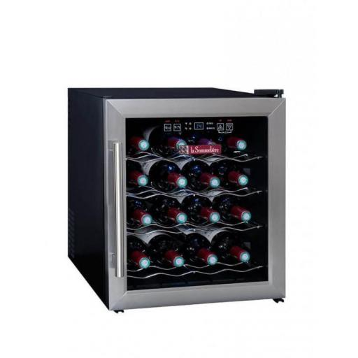 La Sommeliere - LS16 - Single Zone - Countertop Wine Cellar / Wine Cooler - 16 Bottles - 430mm Wide