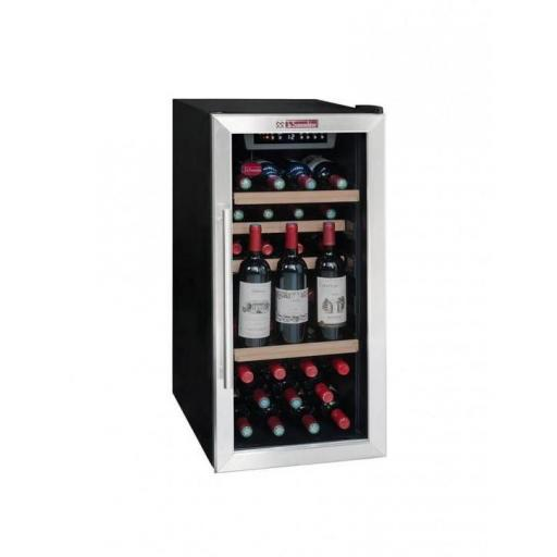 La Sommeliere LS38A Wine Fridge - 38 bottles - Single zone Wine Cooler - 400mm wide