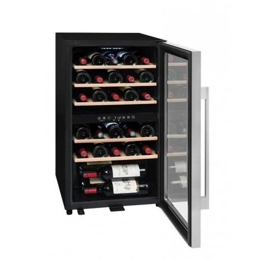 La Sommeliere ECS30.2Z - Wine Fridge - Dual Zone Wine Cooler - 29 Bottles - 480mm Wide