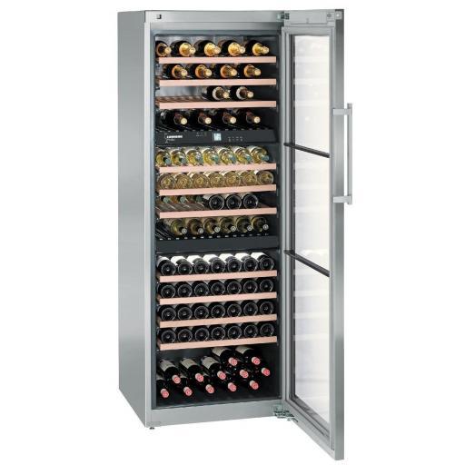 Liebherr WTes 5872 Wine Cabinet - Vinidor 3 Zone - 700mm wide - 178 bottles