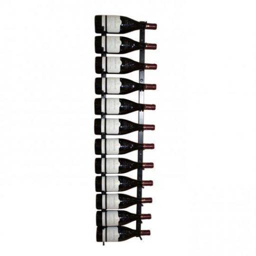 Vino Wall Rack 1x12 bottles - winestorageuk