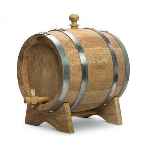 2 liter wine barrel Hungarian oak