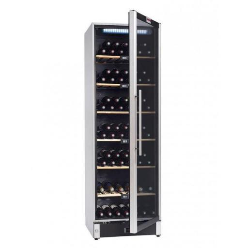 La Sommeliere VIP180 wine cellar multi-temperature 180 bottles - Freestanding Wine Fridge - 595mm Wide - winestorage