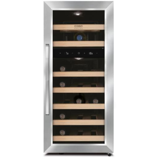 CASO WineDuett 210 Wine cooler / Wine Fridge - 21 bottles - 340mm wide